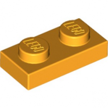 LEGO 4215912 PLATE 1X2 - FLAME YELLOWISH ORANGE