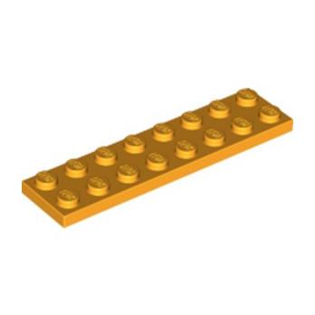 LEGO 6133817 PLATE 2X8 - FLAME YELLOWISH ORANGE