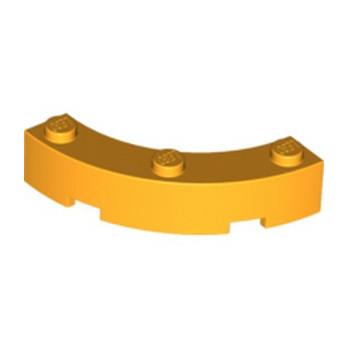 LEGO 6133815  BOW 1/4 4X4X1 - Flame Yellowish Orange
