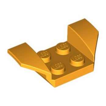 LEGO 6178472 GARDE BOUE 2X4 - FLAMELLOWISH ORANGE lego-6178472-garde-boue-2x4-flamellowish-orange ici :