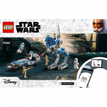 Instructions Lego  Star Wars 75280