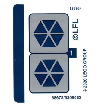 Stickers / Autocollant Lego Star Wars 75283