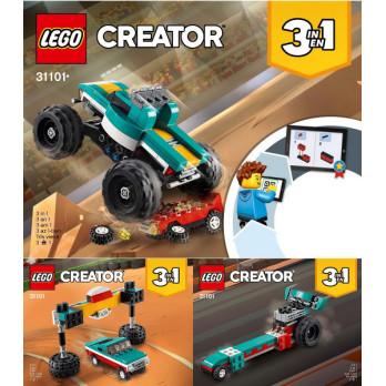 Instructions Lego Creator 31101