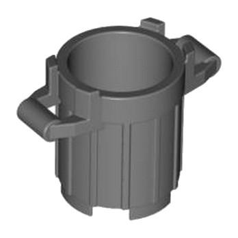 LEGO 4210985 POUBELLE 2X2X2 - DARK STONE GREY lego-6171068-dustbin-2x2x2-dark-stone-grey ici :
