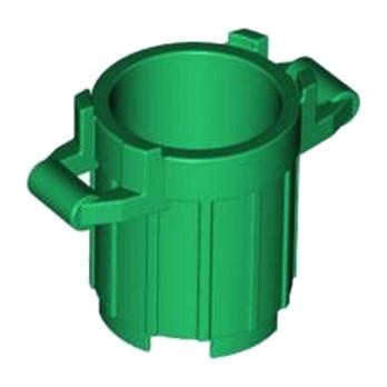 LEGO 4626650 DUSTBIN 2X2X2 - DARK GREEN lego-6171069-dustbin-2x2x2-dark-green ici :