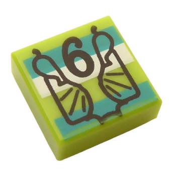 LEGO 6314908 FLAT TILE 1X1 HARRY POTTER