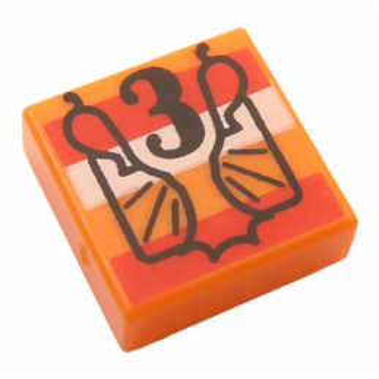 LEGO 6314913 IMPRIME 1X1 HARRY POTTER