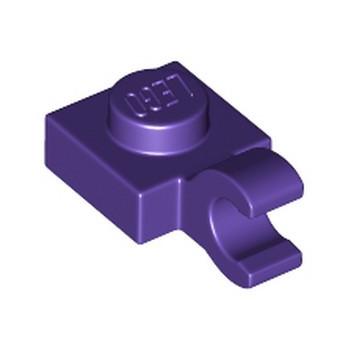 LEGO 6173790 PLATE 1X1 W/HOLDER VERTICAL - MEDIUM LILAC
