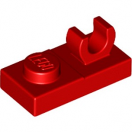 LEGO 4597713 PLATE 1X2 W. VERTICAL GRIP - ROUGE