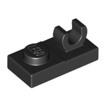 LEGO 4598528 PLATE 1X2 W. VERTICAL GRIP - NOIR