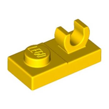 LEGO 6171814 PLATE 1X2 W. VERTICAL GRIP - JAUNE