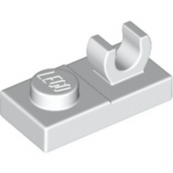 LEGO 6347309 PLATE 1X2 W. VERTICAL GRIP - WHITE