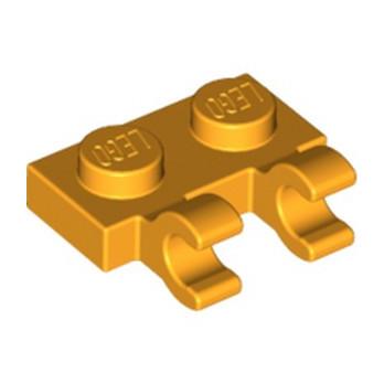 LEGO 6093459 PLATE 1X2 W/HOLDER, VERTICAL - FLAME YELLOWISH ORANGE  lego-6093459-plate-1x2-wholder-vertical-flame-yellowish-orange- ici :