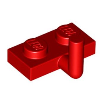 LEGO 4611701 PLATE W. HOOK 1X2 - ROUGE