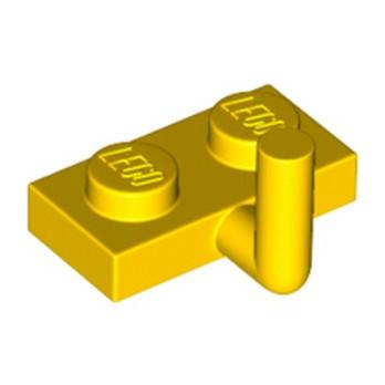LEGO 4611704 PLATE W. HOOK 1X2 - JAUNE