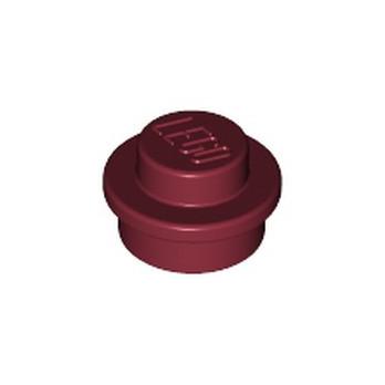 LEGO 6314247 PLATE 1X1 ROUND - NEW DARK RED lego-6314247-plate-1x1-round-new-dark-red ici :