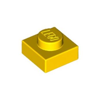 LEGO 302424  PLATE 1X1 - YELLOW