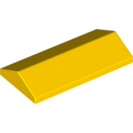 LEGO 6334233 RIDGED TILE 2X4/25° - YELLOW lego-6334233-ridged-tile-2x425-yellow ici :
