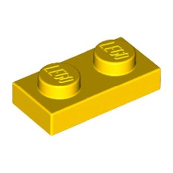 LEGO 302324 PLATE 1X2 - YELLOW