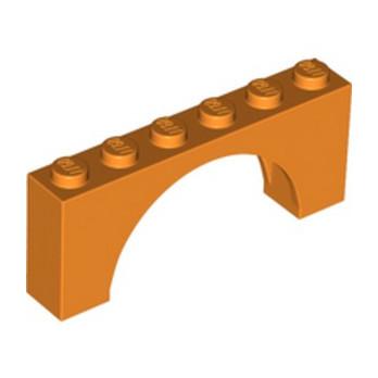LEGO 6337195 ARCHE 1X6X2 - ORANGE lego-6337195-arche-1x6x2-orange ici :