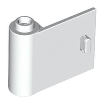 LEGO 6296037 LEFT DOOR 1X3X2 - WHITE