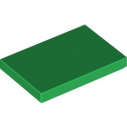 LEGO 6288100 FLAT TILE 2X3 - DARK GREEN lego-6288100-flat-tile-2x3-dark-green ici :