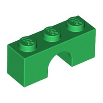 LEGO 6331592 BRICK W. BOW 1X3 - DARK GREEN