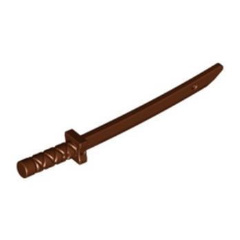 LEGO  6331580 NINJA SWORD - REDDISH BROWN
