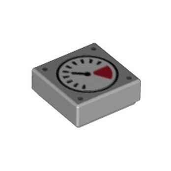 LEGO 6329584 MANOMETER 1X1 - MEDIUM STONE GREY
