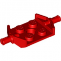 LEGO 6022740 BEARING ELEMENT 2X2 2/3 - RED