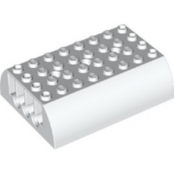 LEGO 6247197 TANK UPPER PART 8X6X2 - WHITE