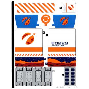 Stickers Lego CITY 60229 stickers-lego-city-60229 ici :