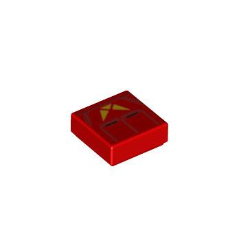 LEGO 6290225 TILE 1X1 STAR WARS - RED