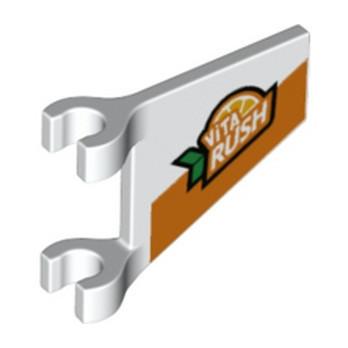 LEGO 6329602 BANNER 26 DEG., W/ 2 HOLDERS lego-6329602-banner-26-deg-w-2-holders ici :