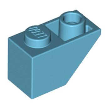 LEGO 6070769 - TUILE  INV1X2 - MEDIUM AZUR