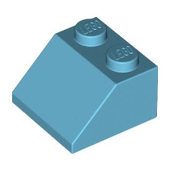 LEGO 6173655 TUILE 2X2/45° - MEDIUM AZUR