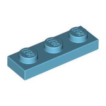 LEGO 6013829 PLATE 1X3 - MEDIUM AZUR