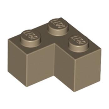 LEGO 6310830 BRICK CORNER 1X2X2 - SAND YELLOW lego-6310830-brick-corner-1x2x2-sand-yellow ici :