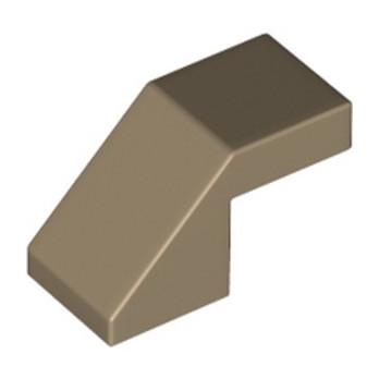 LEGO 6335228 ROOF TILE 1X2, DEG. 45, W/O KNOBS - SAND YELLOW lego-6335228-roof-tile-1x2-deg-45-wo-knobs-sand-yellow ici :