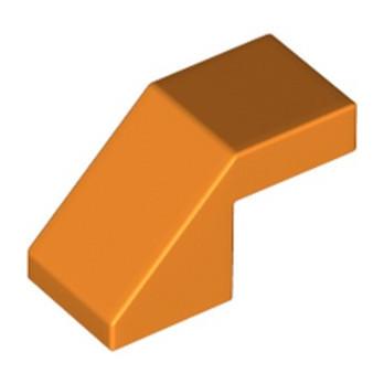 LEGO 6181314 TUILE 1X2 45° - ORANGE lego-6181314-tuile-1x2-45-orange ici :