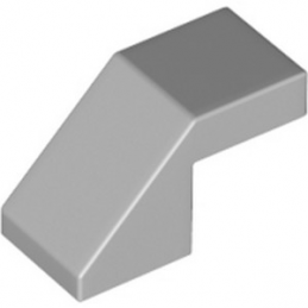 LEGO 6213378 TUILE 1X2 45° - MEDIUM STONE GREY lego-6213378-tuile-1x2-45-medium-stone-grey ici :