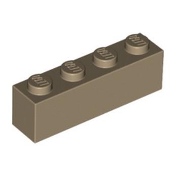 LEGO 6001822 BRIQUE 1X4 - SAND YELLOW