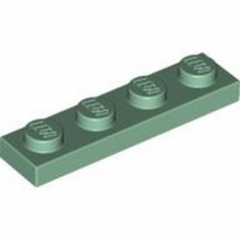 4155205 - PLATE 1X4 - Vert Sable lego-6100234-plate-1x4-sand-green ici :