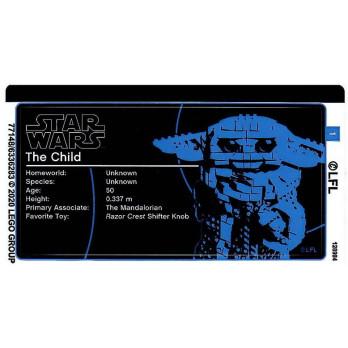 Stickers / Autocollant Lego Star Wars 75318
