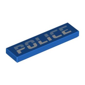 LEGO 6328340 IMPRIME  1X4  POLICE
