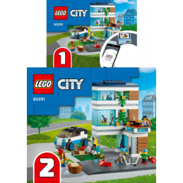 Instructions Lego CITY 60291