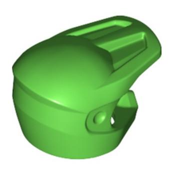 LEGO 6334181 MOTORCYCLE HELMET  - BRIGHT GREEN lego-6334181-motorcycle-helmet-bright-green ici :