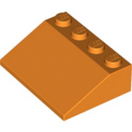 LEGO 6289427 ROOF TILE 3X4/25° - ORANGE lego-6289427-roof-tile-3x425-orange ici :
