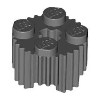 LEGO 6268169 PROFILE BRICK Ø15.83 W. CROSS - DARK STONE GREY lego-6268169-profile-brick-o1583-w-cross-dark-stone-grey ici :