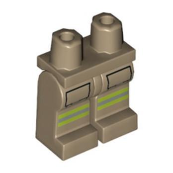 LEGO 6251930 FIREMAN PRINTED LEG lego-6251930-fireman-printed-leg ici :